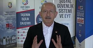 """Kılıçdaroğlu'ndan İşçilere 1 Mayıs Mesajı: """"Sizin alınterinin her zaman yanında olacağım"""""""