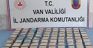 Van'da Jandarma Operasyonu sonucu 21 kilogram eroin ele geçirildi