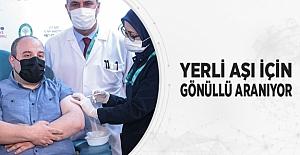 Yerli Aşı İçin Gönüllü Aranıyor