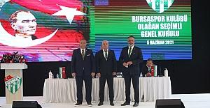 """Bursaspor'un Yeni Başkanı Seçildi: """"HAYRETTİN GÜLGÜLER"""""""