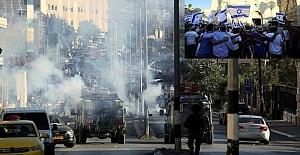 Doğu Kudüs'teki aşırı sağcı Yahudiler, Hz. Muhammed'e hakaret etti!