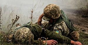 Donbas'taki saldırılar devam ediyor: Bir asker yaralandı