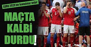 EURO 2020 maçında Christian Eriksen'in kalbi durdu