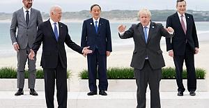 """G7 ülkelerinden """"1 milyar doz aşı"""" kararı"""