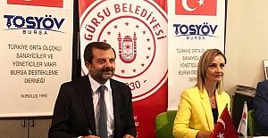 Gürsu Belediyesi ve TOSYÖV İşbirliği Protokolü imzalandı