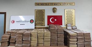 Mersin Limanı'nda bir tondan fazla kokain ele geçirildi