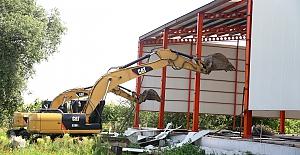 Nilüfer'de kaçak inşaat taviz yok