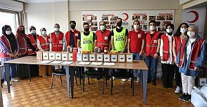 Osmangazi Belediyesi ve Kızılay Ekipleri birlikte çalışıyor