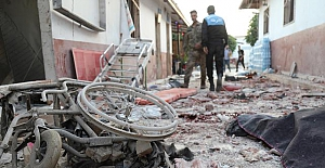 Teröristler Afrin'de hastaneye saldırdı: 13 ölü, 27 yaralı