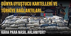 Türkiye uyuşturucu rotasına dönüştürüldü