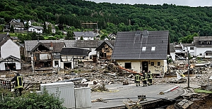 Almanya'da sel felaketinde can kaybı 103'e yükseldi