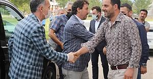 Başkan Alper Taban'dan İnegölspor'a Ziyaret
