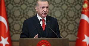 """Cumhurbaşkanı Erdoğan, """"2019'a kadar 11 milyon 320 bin konut ürettik"""""""