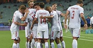 Danimarka Finale yükseldi:  Çekya 1 - Danimarka 2