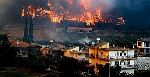 Felaketin üçüncü günü: 6 il ve 20 noktada orman yangınları halen sürüyor