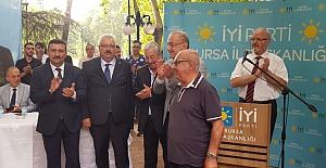 İyi Parti Bursa'nın Bayramlaşmasında izdiham yaşandı