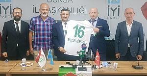 İyi Parti'den Bursaspor'a kombine desteği
