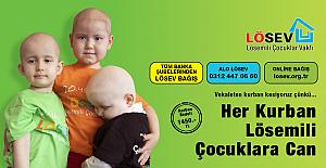 LÖSEV 'e kayıtlı 50.000'in üstünde kanserli çocuğa, Kurban Bayramı vesilesiyle el uzatalım!..