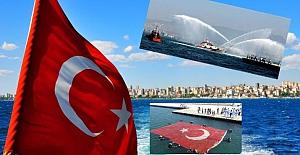 """Denizlerdeki egemenliğimizin sembolü: """"1 Temmuz Kabotaj ve Denizcilik Bayramı"""" kutlu olsun!"""