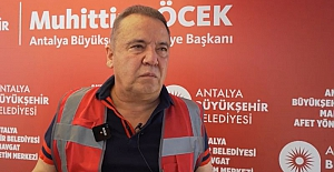 Antalya Büyükşehir Belediye Başkanı Böcek: Yukarıdan müdahale yapılamayınca yangın söndürülemiyor, uçak ve helikopter istiyoruz