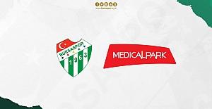 Bursaspor'un sağlık hizmetlerini Medical Park Hastaneler Grubu üstlendi