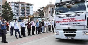 İnegöl'den Kastamonu'ya yardım eli