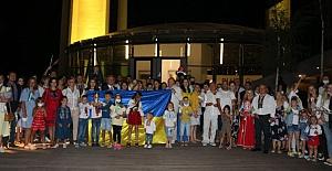 Ukrayna Bayrak Günü, Türkiye'de coşkuyla kutlandı