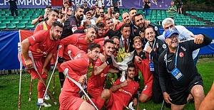 Ampute Futbol Milli Takımı üst üste ikinci kez Avrupa Şampiyonu oldu!
