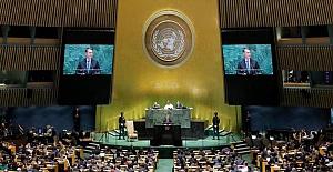 BM Zirvesi devam ederken Taliban Genel Kurul'a katılmak istedi