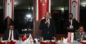 """Ersin Tatar: """"Biz Türkiye'ye yürekten bağlı bir halkız. Türkiye bizim ana vatanımızdır."""""""