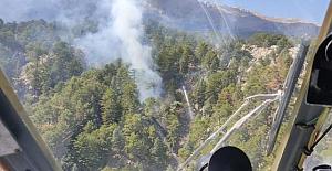 Manavgat'ta yeniden orman yangını!