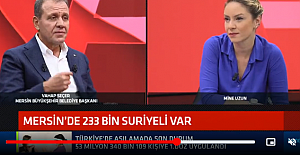 Mersin Büyükşehir Belediye Başkanı Vahap Seçer kentteki Suriyeli sayısını açıkladı