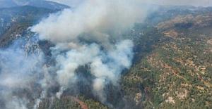 Muğla / Marmaris  ve Mersin / Anamur ilçelerinde Yangın! Müdahale devam ediyor
