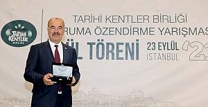 Tarihi Kentler Birliği'nden Mudanya'ya bir ödül daha..
