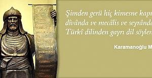 Türk Dil Bayramı Kutlu Olsun!