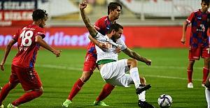 Yine hüsran; Altınordu 2 - 1 Bursaspor