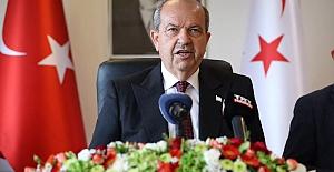 """KKTC Cumhurbaşkanı Tatar: """"Başbakan, göreve devam etmek istemediğini söyledi"""""""