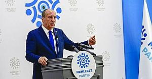 """Muharrem İnce Bursa'dan seslendi: """"Bu iktidarı, yorgun Erdoğan'ı değiştirmek için ne gerekiyorsa onu yapacağız"""""""