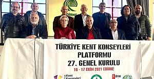 Türkiye Kent Konseyleri Platformu Genel Kurulu yapıldı