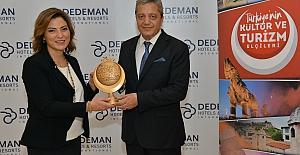 Türkiye Tanıtma Platformu Ödülüne Banu Dedeman layık görüldü