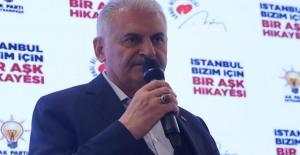 """Binali Yıldırım: """"İmamoğlu başlı başına projedir"""""""
