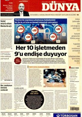 Bursa Arena / Haber Merkezi - 21.04.2019 Manşeti