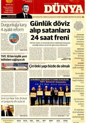 Bursa Arena / Haber Merkezi - 22.05.2019 Manşeti