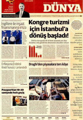 Bursa Arena / Haber Merkezi - 20.06.2019 Manşeti