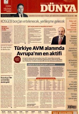 Bursa Arena / Haber Merkezi - 20.08.2018 Manşeti
