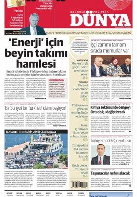 Bursa Arena / Haber Merkezi - 15.08.2019 Manşeti