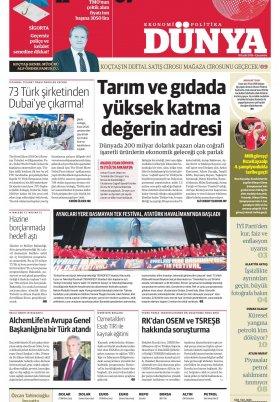 Bursa Arena / Haber Merkezi - 19.09.2019 Manşeti