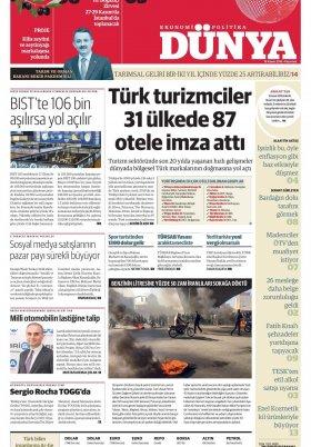 Bursa Arena / Haber Merkezi - 19.11.2019 Manşeti