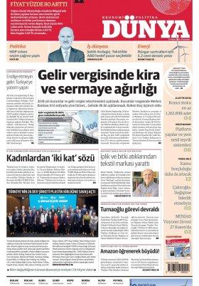 Bursa Arena / Haber Merkezi - 22.11.2019 Manşeti