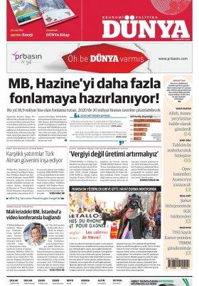 Bursa Arena / Haber Merkezi - 06.12.2019 Manşeti